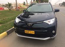 Blue Toyota RAV 4 2017 for sale