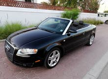 AUDI A4 2008,IMPORTED,ACCIDENT FREE,CONVERTIBLE,WELL MAINTAINED AED 19,500