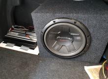 ADS 1200- W Amplifier &  Subwoofer Pioneer