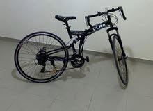 دراجه هوائيه ست سرعات نظيفه استخدام مره واحده