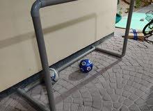 football goal no net