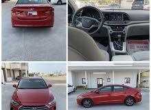 Hyundai Elantra 2018 Red middle option