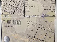 للبيع ارض سكنية عرضية في المعبيلة السابعة مساحة 792 متر