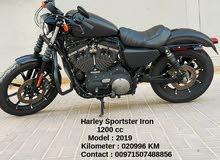 Harley Sportster Iron 1200cc