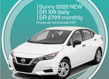 Nissan Sunny 2020 THE NEW MODEL for rent