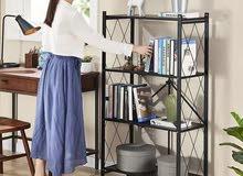رفوف سهلة الحركة و مثالية لغرفة الجلوس والمطبخ