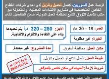 مطلوب عُمال انتاج سوريين