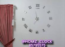 ساعات حائط ثري دي 3D بجوده عاليه