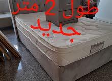 سرير للبيع اسخدام 15 يوم 30 دينار عرض1متر 20  طول 2متر
