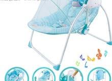 كرسي طفل هزاز ع الكهرباء والباتري .............
