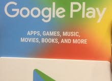 كروت جوجل بلاي و ايتونز كاش او بطاقة مصرفية او تداول