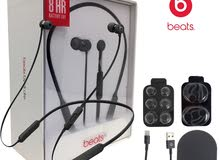 Beats X  wireless Bluetooth earphones  - ( NEW-open box )