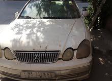 سيارة لكزس للبيع قطع غيار