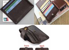 Genuine Leather - Mini Cards Wallets