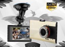 كاميرا توضع غلى الزجاج الامامير لتسجيل كافة الاحداث من امامك