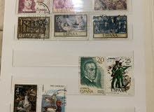 البوم طوابع عربية واجنبية
