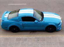 Blue Ford Mustang 2007 for sale