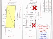 للبيع اراضي مجزاءة حي الياسمين 18