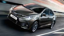 Toyota 2018 for rent