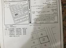 للبيع ارض سكنيه ولاية صحار منطقة مجز 6 بسعر مغري