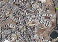 ارض على شارعين مساحة 970 متر بخربة سكا ضاحية النخيل