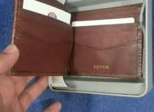 Fossil wallet محفظة فوسل جديده