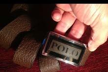 حزاام جلد طبيعي 100٪  جديد بالعلبه