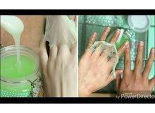 شمع او ماسك اليدين والقدمين لتقشير الجلد وداعا لليدين الخشنه منتج ناااااااار