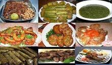 جميع الأكلات المصرية حسب الطلب
