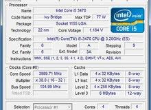 معالج i5 3470 3.20GHz دسكتوب