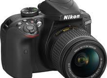 D3400 + 18-55 lens Nikon
