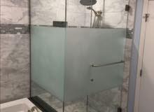 عمل الزجاج السكريت و صيانه كاملا الزجاج وباب