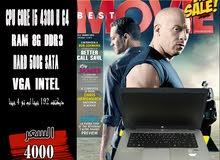 HP ELITEBOOK 850 CORE I5 جيل رابع رمات 8G+ هارد 500 // لعبة بابجي بكفاءه