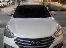 White Hyundai Santa Fe 2016 for sale