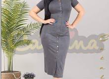 فستان قصير القياس L  XL  XXL