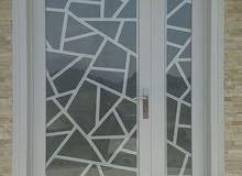 aluminium steel doors windows and kitchen cavinet