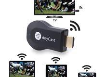Kebidumei HDMI جهاز استقبال للتليفزيون اللاسلكية موصل تلفاز AnyCast M2 البث مستق