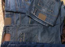 للبيع بنطلين جينز اصلي (قياس 42)