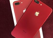 ايفون 7 بلس احمر ذاكرة 128