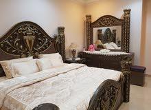 بيعة سريعه غرفة نوم كاملة خشب كويتي محلي نظيف