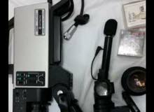 كاميرا فيديو vk-c800e Hitachi`  انتيك بحاه ناد ومجموعه عدسات  هيتاشى يابانى