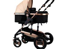 للبيع عربة الطفل شبه جديدة