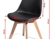 table des chaises scandinave