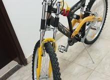 دراجة جديدة استخدام مرة وحدة فقط