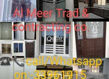 Do almuniyam, u-pvc,  glass and jipson work