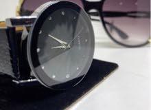 طقم ساعة نسائي مع نظارة