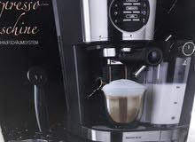 مكينة قهوة سلڤر كرست مستعملة قليل جدا نظفية بالباكيت تسوي القهوة 3 اشكال
