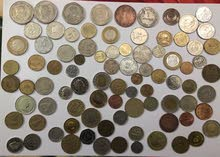 old coins & notes currency