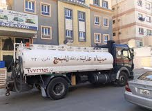 تنكر مياه عذبه صالحه لشرب
