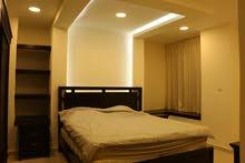 شقة مفروشة جديدة للايجار فاخرة جدا مقابل قصر الاميرة بسمة من المالك مباشرة
